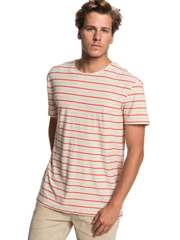 0 Sunshine City - Camiseta para Hombre Naranja EQYKT03878 Quiksilver
