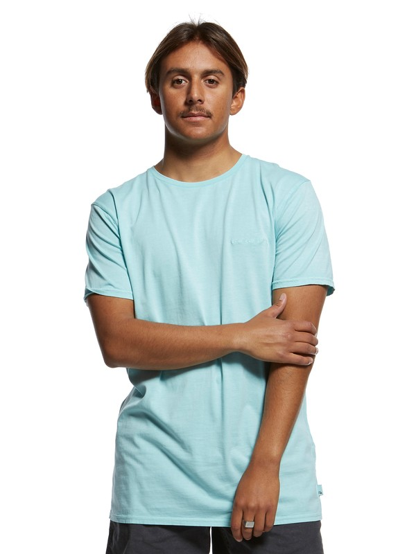 0 Originals Tee Blue EQYKT03879 Quiksilver