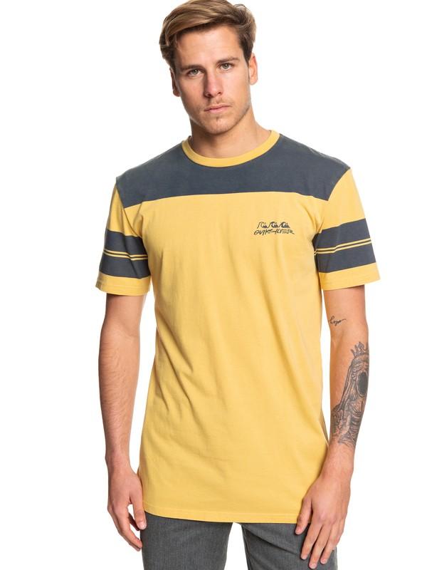 0 Wodonga Konga Tee Yellow EQYKT03881 Quiksilver