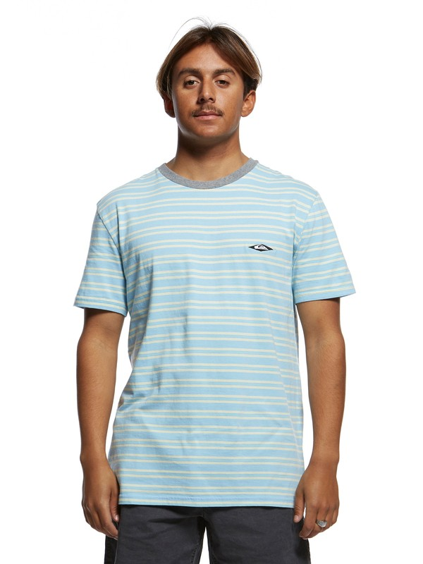 0 Originals Small Scale Tee Blue EQYKT03882 Quiksilver
