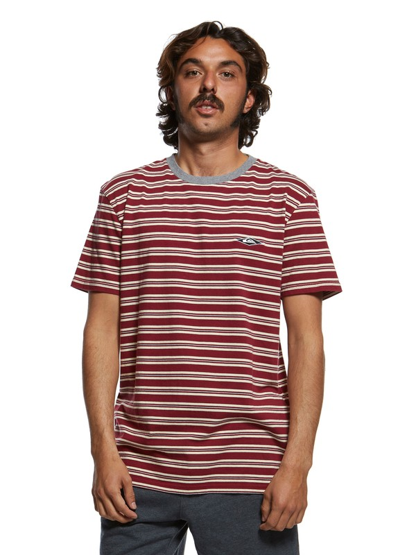 0 Originals Small Scale Tee Red EQYKT03882 Quiksilver