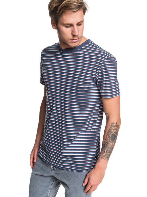 0 Shred That Tee Blue EQYKT03909 Quiksilver