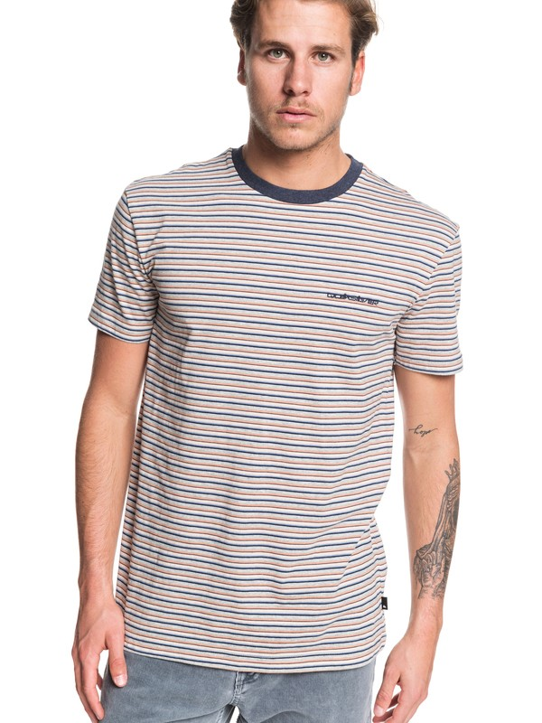 0 Shred That Tee Beige EQYKT03909 Quiksilver