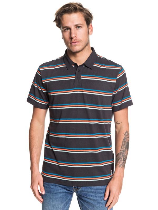 0 Coreky Short Sleeve Polo Shirt Black EQYKT03917 Quiksilver