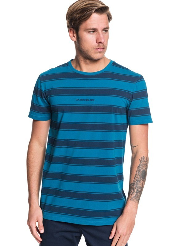 0 Maxed Out Tee Blue EQYKT03919 Quiksilver