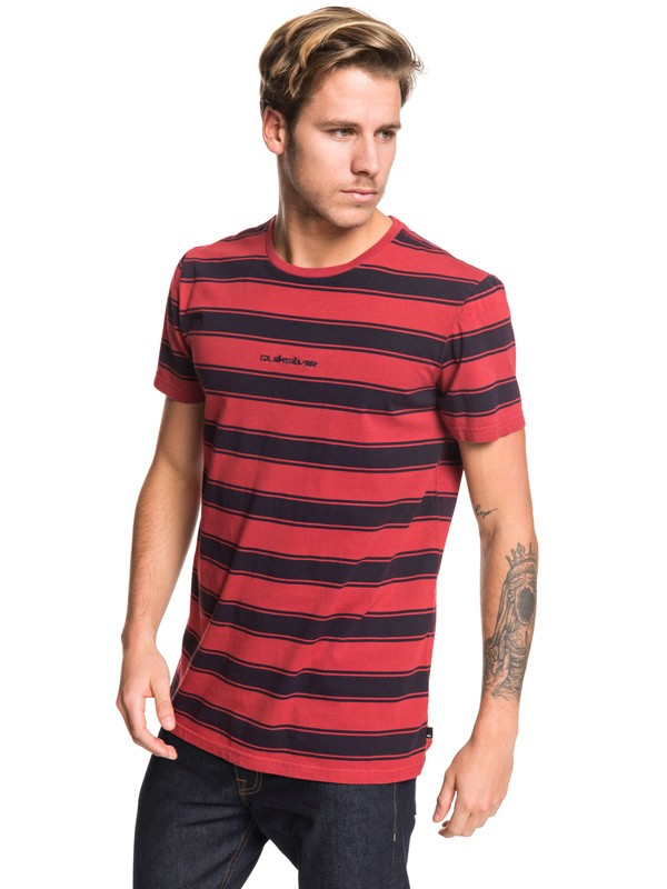 0 Maxed Out Tee Red EQYKT03919 Quiksilver