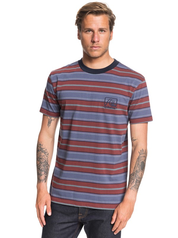 0 Boate Tee Red EQYKT03946 Quiksilver