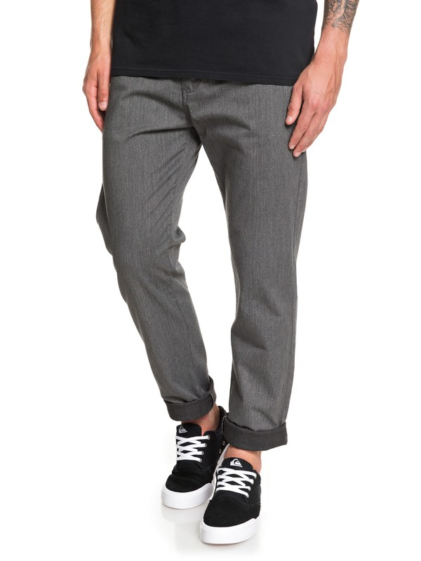 0 New Everyday Union Chinos Black EQYNP03135 Quiksilver