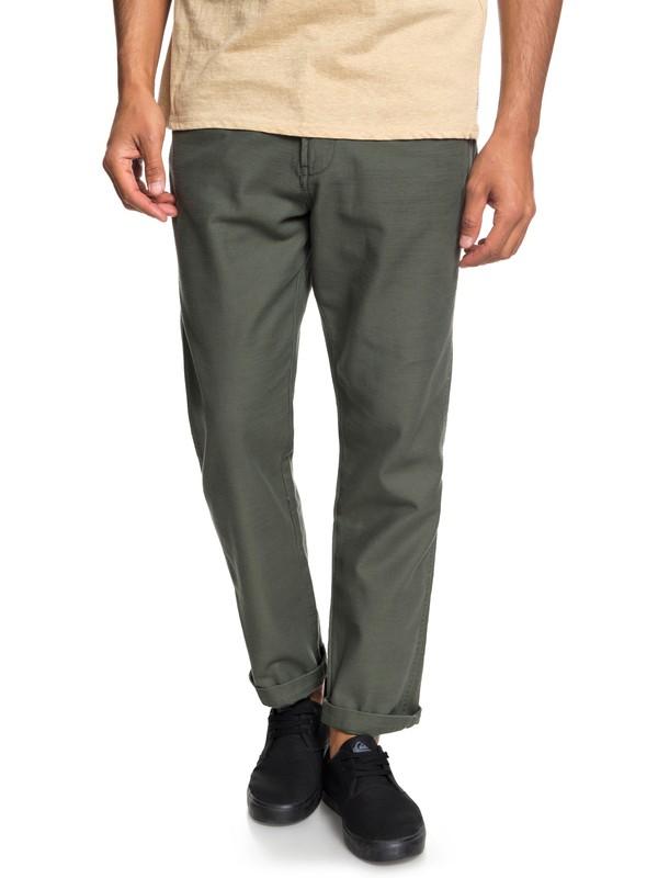 0 Mitake - Fatigue Trousers for Men Brown EQYNP03148 Quiksilver