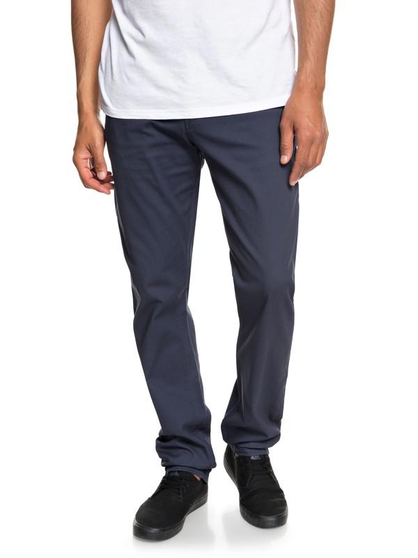 0 Krandy - Pantalon chino pour Homme Bleu EQYNP03150 Quiksilver