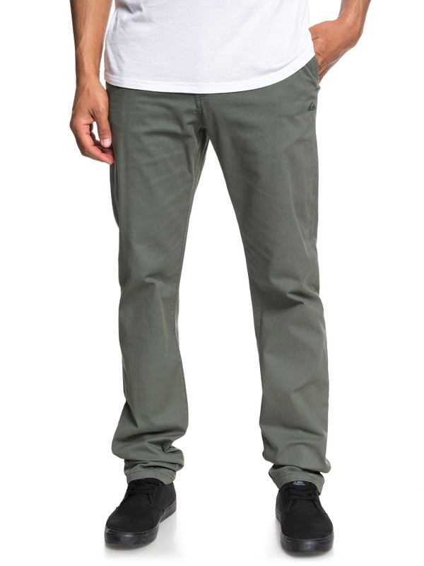 0 Krandy - Chinos for Men Brown EQYNP03150 Quiksilver