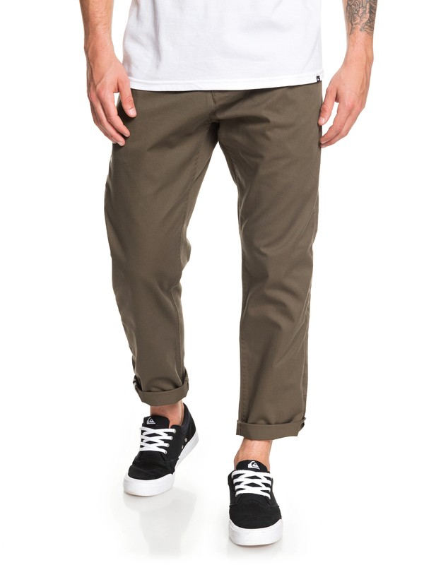 0 Disaray Chinos Brown EQYNP03161 Quiksilver