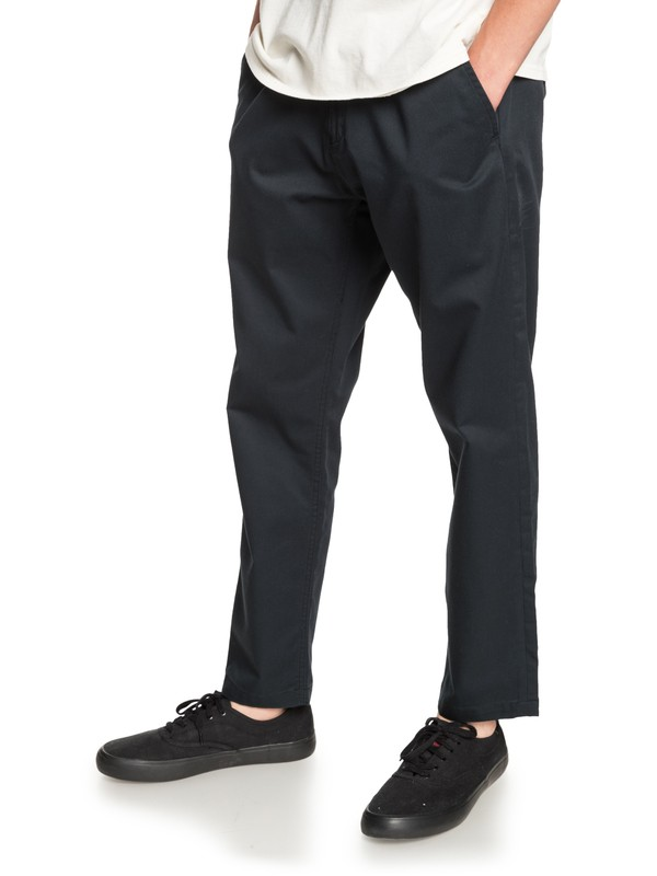 0 Disaray Chinos Black EQYNP03161 Quiksilver