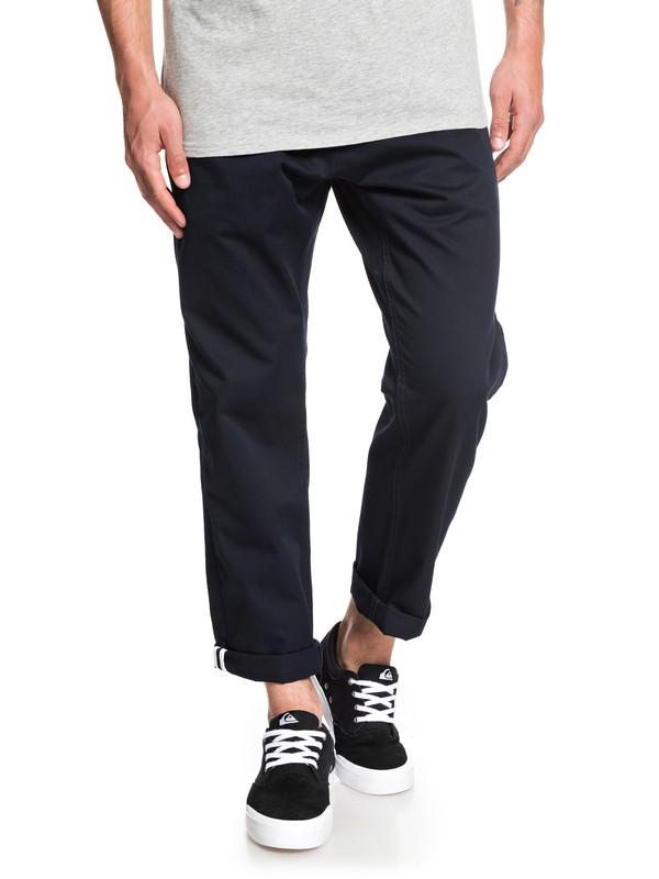 0 Pantalones tipo Chinos Disaray Negro EQYNP03161 Quiksilver