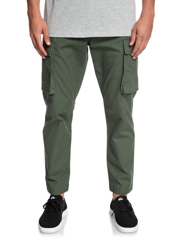 0 Free Mantle - Pantalón Cargo para Hombre Marron EQYNP03164 Quiksilver