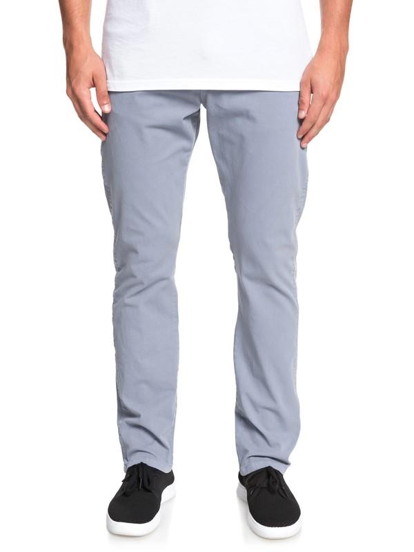 0 Krandy - Pantalones de Corte Recto para Hombre Azul EQYNP03168 Quiksilver
