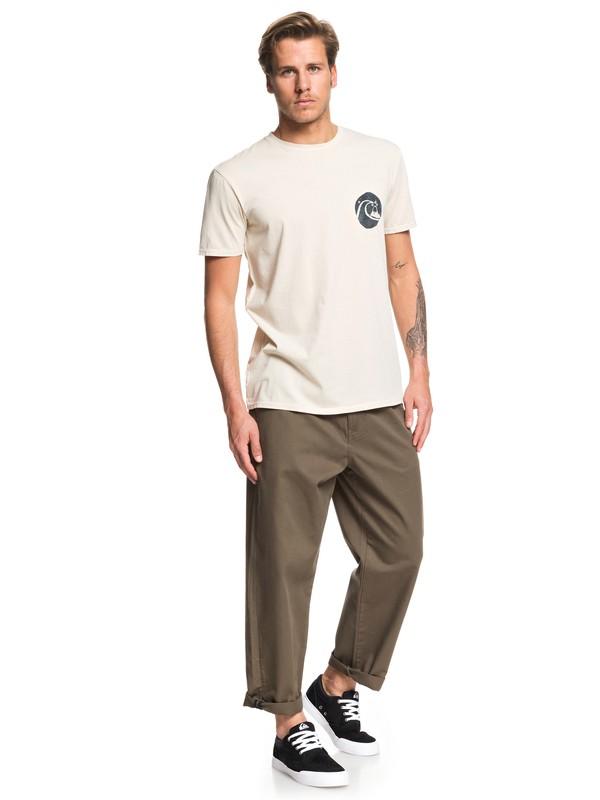 Drop Bear - Loose Fit Pleat Trousers for Men  EQYNP03173