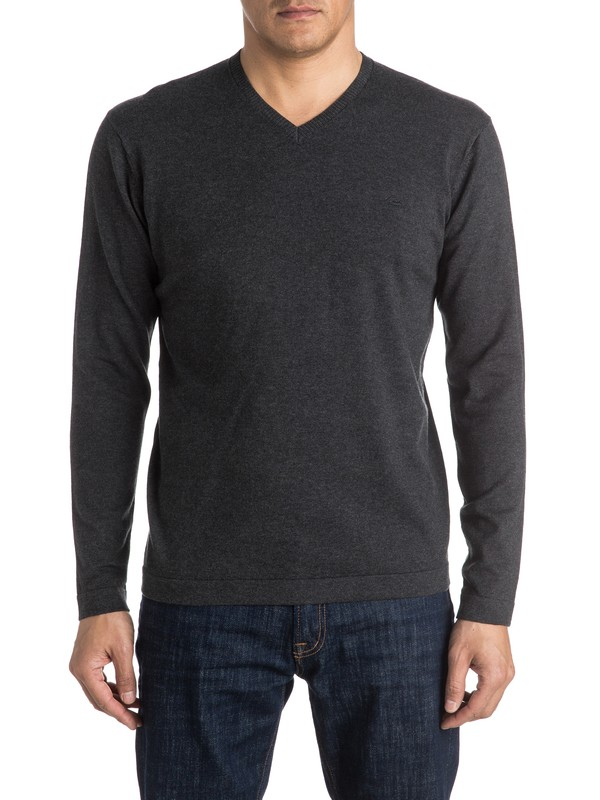 0 Everyday Kelvin V-Neck Sweatshirt  EQYSW03141 Quiksilver
