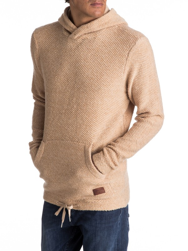 0 Lupao - Pull à capuche pour Homme Beige EQYSW03187 Quiksilver