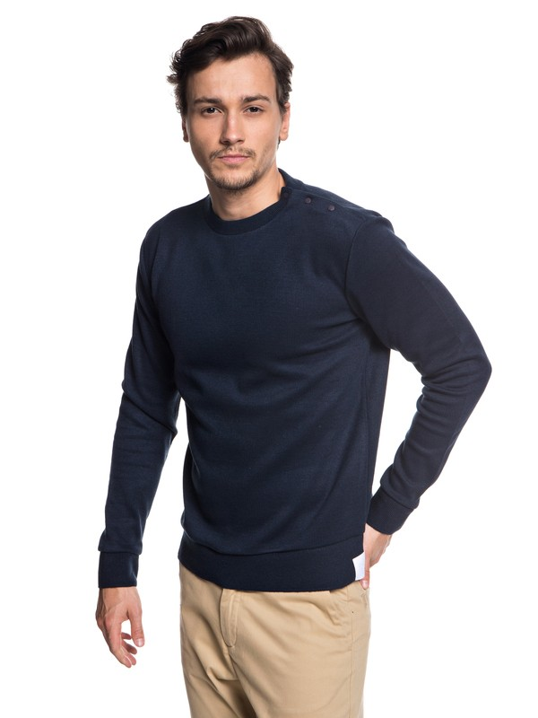 0 Quikbond - Bonded Jumper for Men Blue EQYSW03220 Quiksilver
