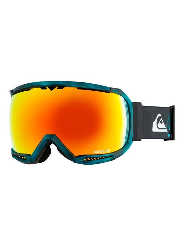 0 Hubble TR - Ski/Snowboard Goggles for Men Blue EQYTG03051 Quiksilver