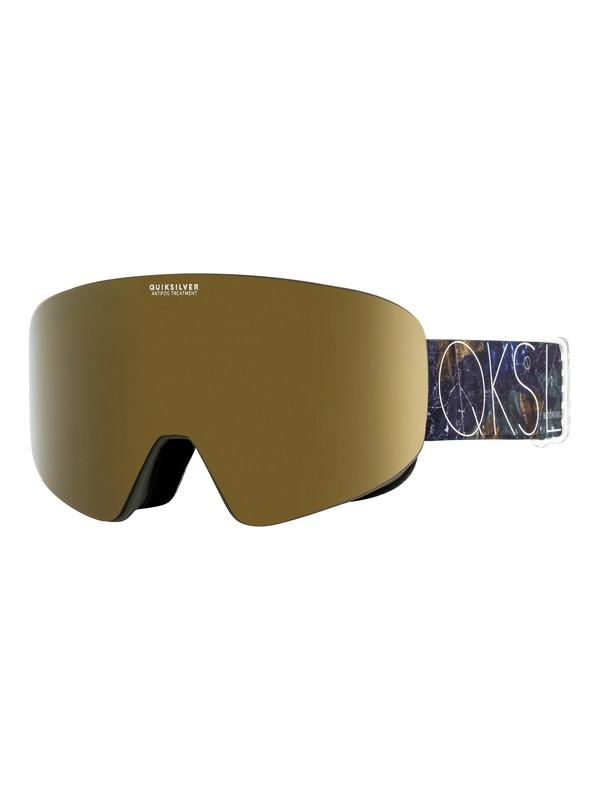 0 QS RC Snowboard/Ski Goggles Brown EQYTG03053 Quiksilver