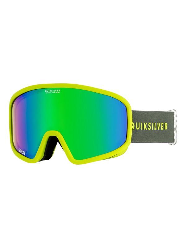 0 Browdy - Masque de ski/snowboard pour Homme Vert EQYTG03054 Quiksilver
