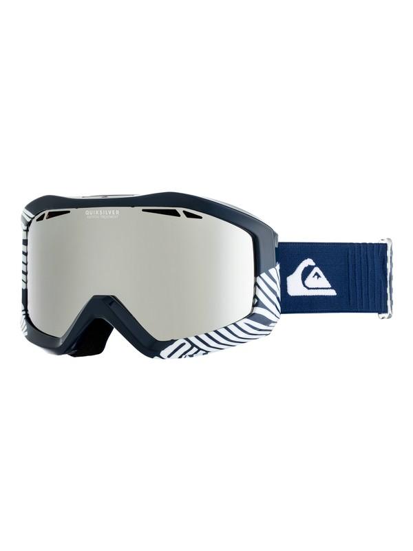 0 Сноубордическая маска Fenom Mirror Синий EQYTG03061 Quiksilver