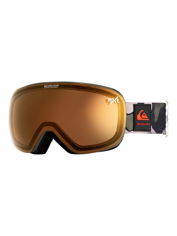 0 QS_R Snowboard/Ski Goggles Brown EQYTG03082 Quiksilver