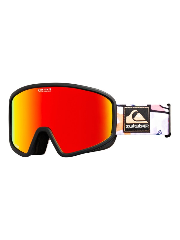 0 Browdy Anniversary - Snowboard/Ski Goggles Black EQYTG03092 Quiksilver