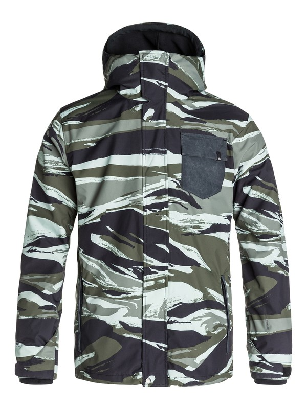 0 Mission 3N1 10K Snow Jacket  EQYTJ03019 Quiksilver