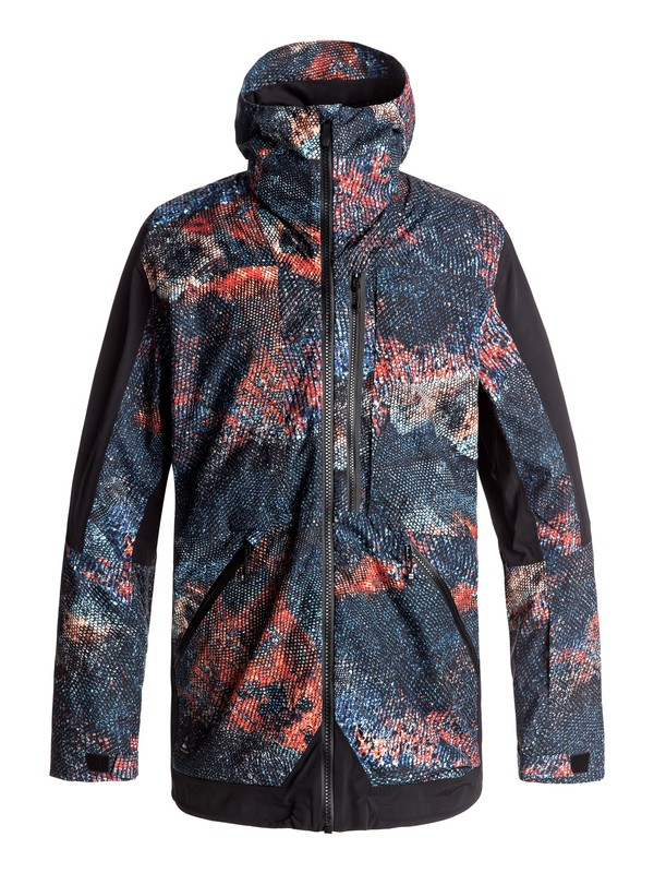 0 TR Stretch Snow Jacket Orange EQYTJ03114 Quiksilver