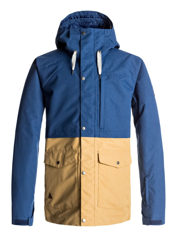 0 Horizon - Snow Jacke für Männer Blau EQYTJ03122 Quiksilver