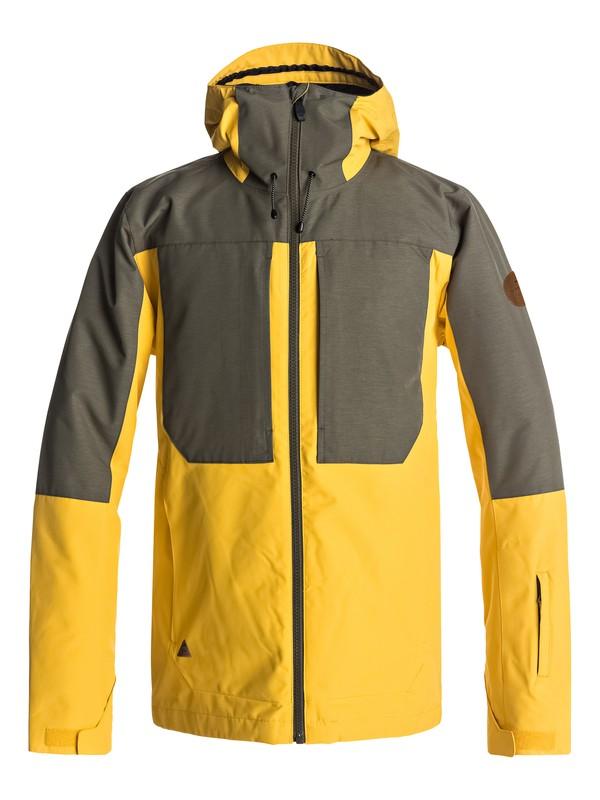 0 Ambition - Snowboardjack Yellow EQYTJ03155 Quiksilver