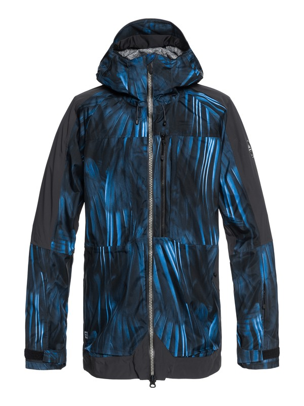 0 TR Stretch - Shell Snow Jacket for Men Blue EQYTJ03172 Quiksilver