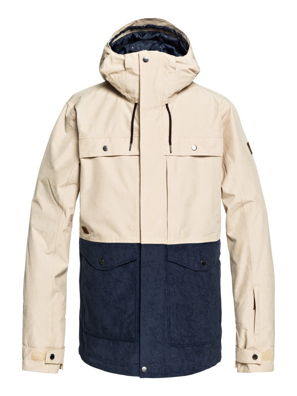 0 Horizon Snow Jacket Beige EQYTJ03177 Quiksilver
