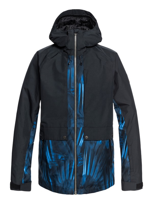 0 TR Ambition - Parka Snow Jacket for Men Blue EQYTJ03179 Quiksilver
