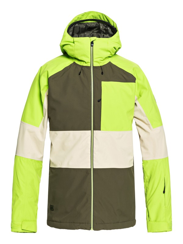 0 Sycamore Snow Jacket Brown EQYTJ03180 Quiksilver