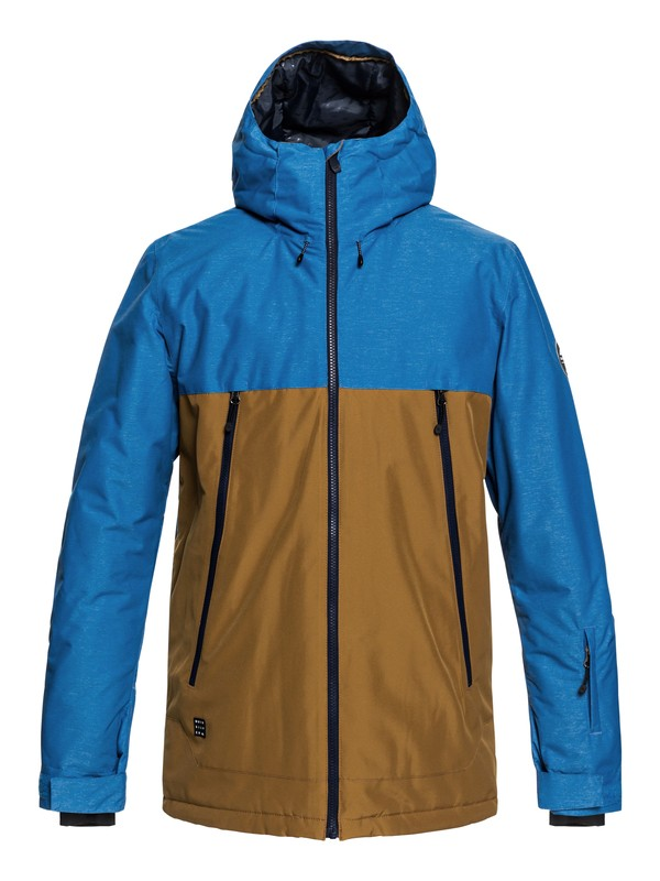 0 Sierra - Snow Jacket for Men Brown EQYTJ03181 Quiksilver