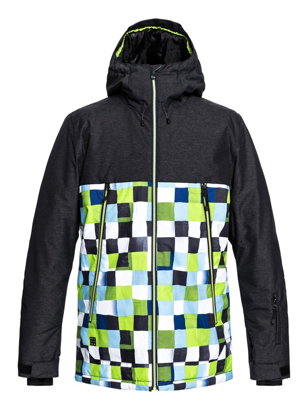 0 Сноубордическая куртка Sierra Зеленый EQYTJ03181 Quiksilver
