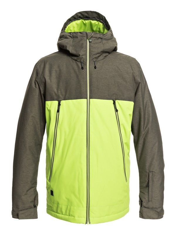 0 Sierra - Snow Jacket for Men Green EQYTJ03181 Quiksilver