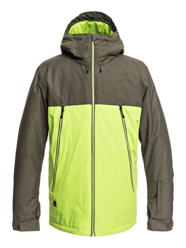 0 Sierra - Veste de snow pour Homme Vert EQYTJ03181 Quiksilver