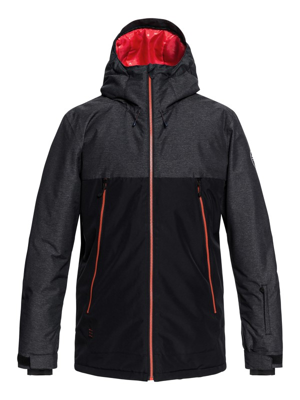 0 Sierra - Snow Jacket for Men Black EQYTJ03181 Quiksilver