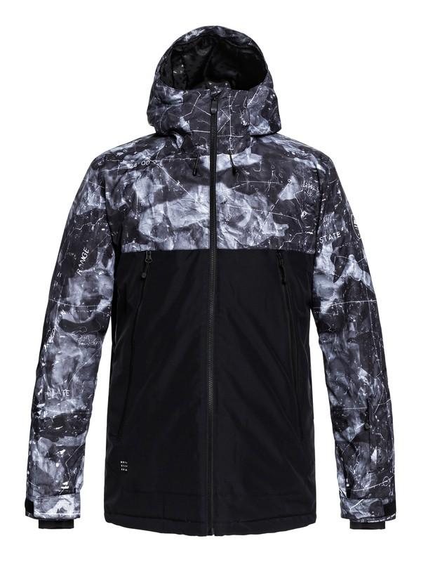 0 Sierra Snow Jacket Black EQYTJ03181 Quiksilver