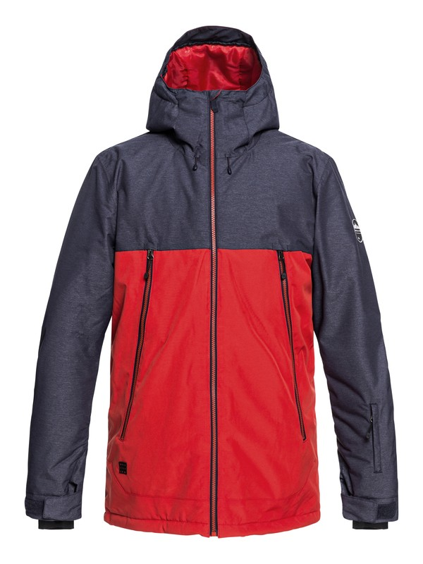 0 Sierra - Snow Jacket for Men Red EQYTJ03181 Quiksilver