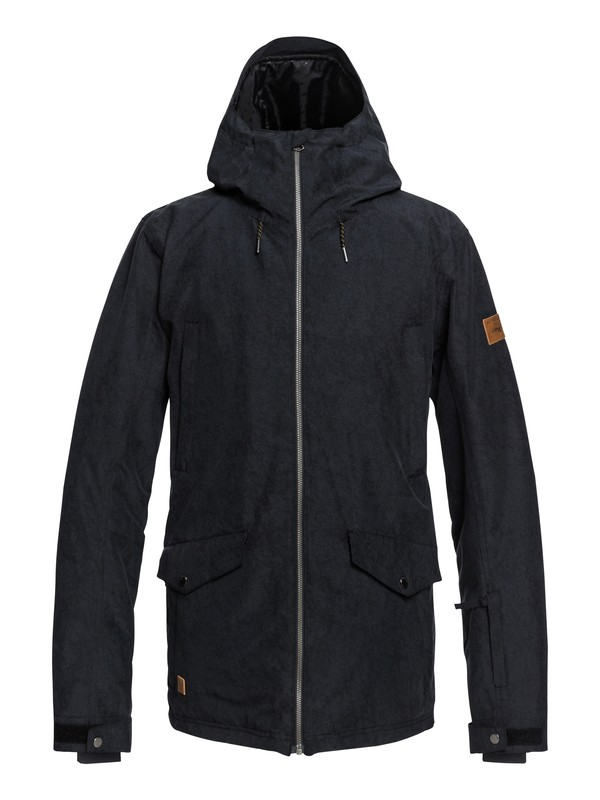 0 Drift Snow Jacket Black EQYTJ03182 Quiksilver