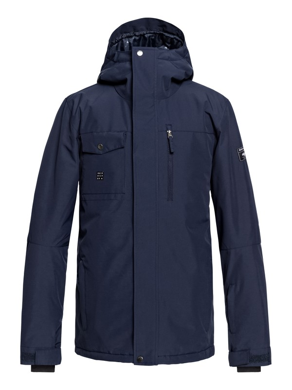 0 Mission Snow Jacket Blue EQYTJ03185 Quiksilver