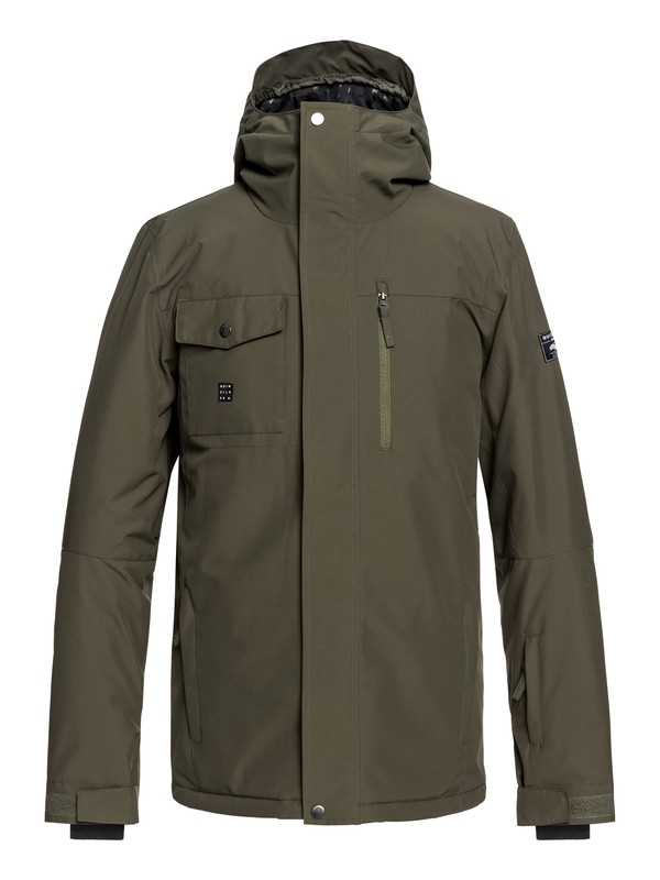 0 Mission Snow Jacket Brown EQYTJ03185 Quiksilver