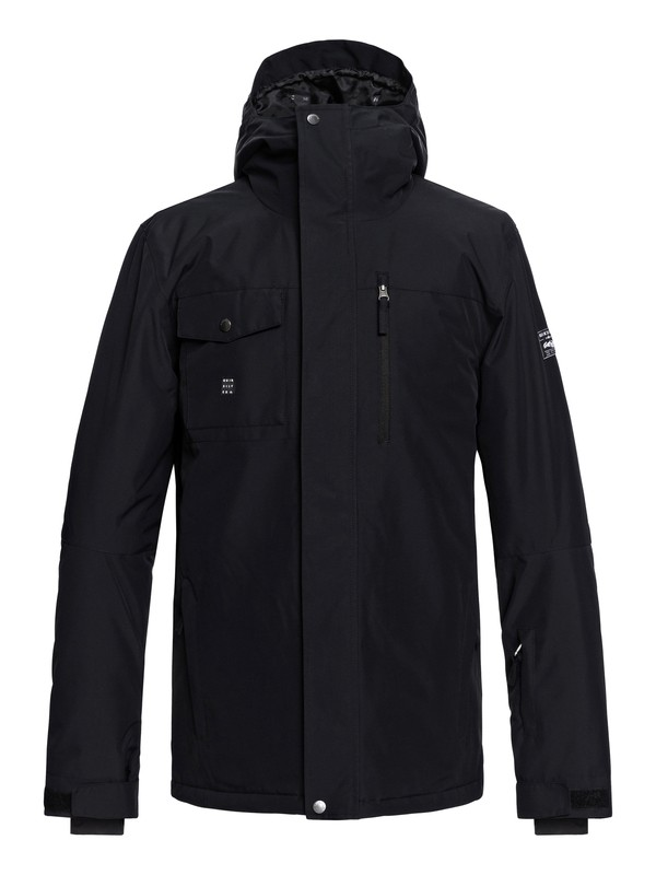 0 Mission Snow Jacket Black EQYTJ03185 Quiksilver