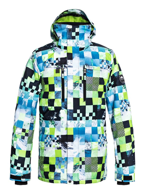 0 Mission - Snow Jacket for Men Green EQYTJ03186 Quiksilver